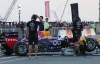 سيارة فورمولا 1 تعزف النشيد الوطني الإماراتي