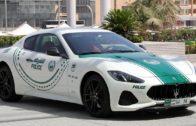 سيارة مازيراتي تنضم إلى أسطول سيارات شرطة دبي