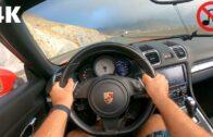 قيادة رائعة على متن بورشه بوكستر إس على جبل جيص