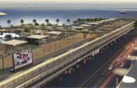 صور توضيحية لمنطقة الصيانة في حلبة جدة للفورمولا 1
